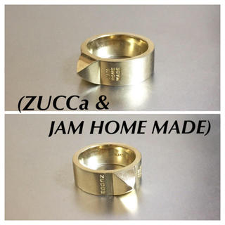 ジャムホームメイドアンドレディメイド(JAM HOME MADE & ready made)の🔴 ジャムホームメイドxズッカ コラボリング(リング(指輪))