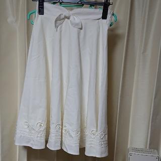 レディアゼル(REDYAZEL)のアゼル 未使用 ホワイトスカート(ひざ丈スカート)