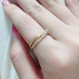 Vendome Aoyama - ヴァンドーム青山 指輪 18K ダイヤモンド 美品