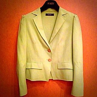 フォクシー(FOXEY)の新品同様フォクシー ピスタチオグリーン上質ジャケット40(テーラードジャケット)