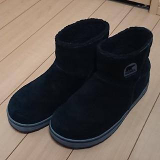 ソレル(SOREL)のSOREL ソレル グレイシーショート ブラック US8(26cm) ブーツ(ブーツ)
