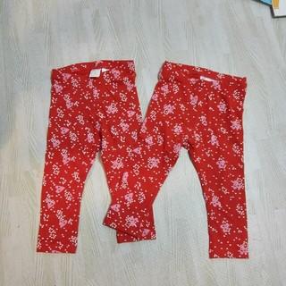 エイチアンドエム(H&M)の新品 H&M 女の子レギンス 2枚セット(パンツ)