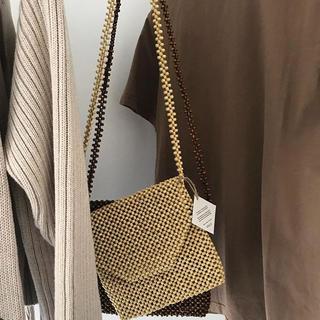 ビューティアンドユースユナイテッドアローズ(BEAUTY&YOUTH UNITED ARROWS)のAbaca wood beads bag(ショルダーバッグ)