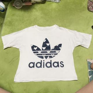 adidas - アディダス古着   半袖シャツ