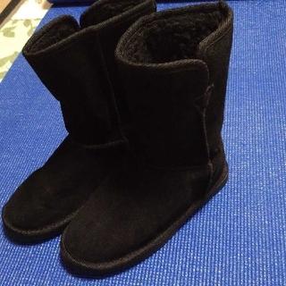 ナチュラルビューティーベーシック(NATURAL BEAUTY BASIC)のNATURAL BEAUTY BASIC ムートンブーツ23.5cm(ブーツ)