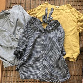 スタディオクリップ(STUDIO CLIP)のトップス(シャツ/ブラウス(半袖/袖なし))