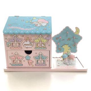 サンリオ - サンリオ激レア商品!!キキララ✨ジオラマ 木製アクセサリーボックス