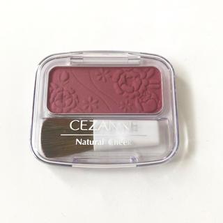 セザンヌケショウヒン(CEZANNE(セザンヌ化粧品))のセザンヌ ナチュラル チーク N 16 カシスローズ(チーク)