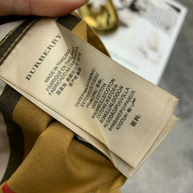 BURBERRY(バーバリー)のBurberryバーバリー   長Tシャツ  オトナカジュアル 男女兼用19ss レディースのトップス(シャツ/ブラウス(長袖/七分))の商品写真