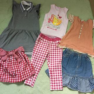 女児 服セット(ワンピース)