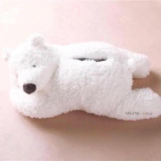 ジェラートピケ(gelato pique)のレア♡正規店購入♡ ジェラートピケ ♡ シロクマティッシュケース(ティッシュボックス)