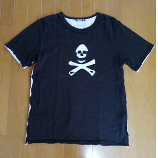 ビームス(BEAMS)のBEAMS ビームス 半袖 Tシャツ 黒 ドクロ(Tシャツ/カットソー(半袖/袖なし))