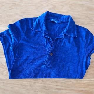 フォーティーファイブアールピーエム(45rpm)の45 インディゴポロ 2 濃紺(ポロシャツ)