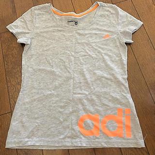 adidas - アディダス ライトグレー Tシャツ