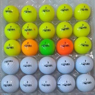 ホンマゴルフ(本間ゴルフ)のロストボール ホンマD1 25球(その他)