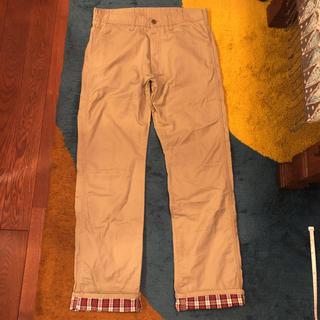 SHIPS - シップスSHIPSパンツ チノパン裾赤チェック!サイズMくらい