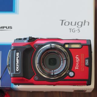 OLYMPUS - OLYMPUS TG-5 ほぼ新品!充電してすぐに使えます!