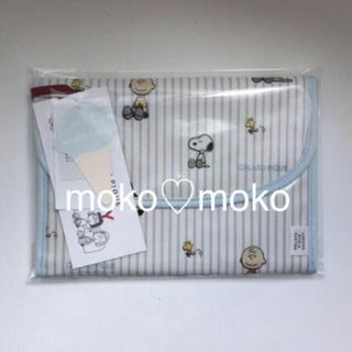 gelato pique - ジェラートピケ ♡ 【PEANUTS】ストライプ母子手帳ケース