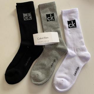 カルバンクライン(Calvin Klein)の☆新品☆ カルバンクライン メンズソックス 靴下 3色セット(ソックス)