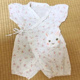 クーラクール(coeur a coeur)のクーラクール   甚平 浴衣 ロンパース 80(甚平/浴衣)