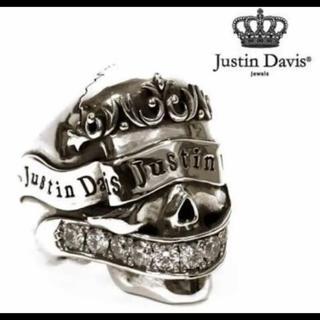 Justin Davis - 希少!JustinDavis BLESSINGSKULLリング
