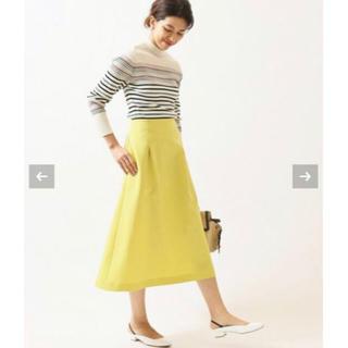 IENA - 19SS🌸新品🌸 IENA  TAボンディングタックトラペーズスカート36