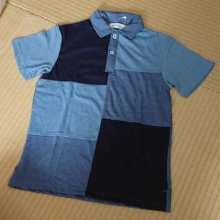 ザショップティーケー(THE SHOP TK)のTHE SHOP TK デニム風 ポロシャツ 150(Tシャツ/カットソー)