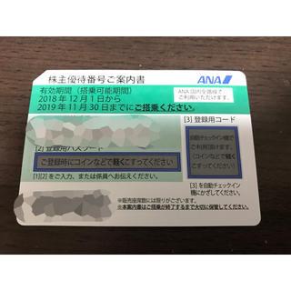 エーエヌエー(ゼンニッポンクウユ)(ANA(全日本空輸))のANA株主優待1枚(その他)