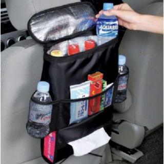 車 のシートに楽々取付け 車用 収納 保冷保温 シートバック ポケット