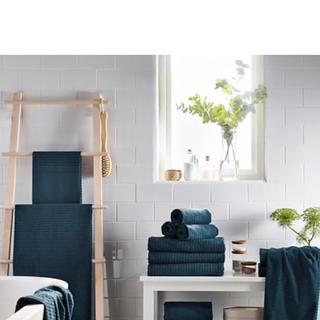 イケア(IKEA)のIKEA イケア バスタオル 4枚セット(タオル/バス用品)