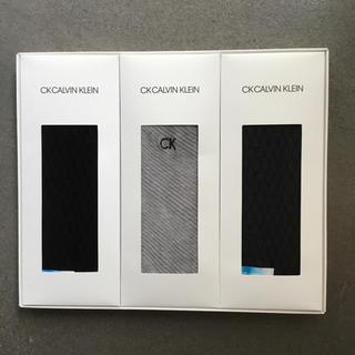 シーケーカルバンクライン(ck Calvin Klein)のCK CALVIN KLEIN ソックス3足セット(ソックス)