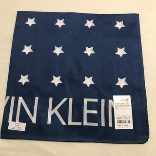 カルバンクライン(Calvin Klein)の⭐️Calvin CLEIN ハンカチ バンダナ スカーフ⭐️(バンダナ/スカーフ)