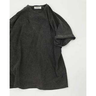 トゥデイフル(TODAYFUL)のtodayful  Cuff Print T-Shirts 新品未使用(Tシャツ/カットソー(半袖/袖なし))