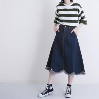 merlot - デニムスカート