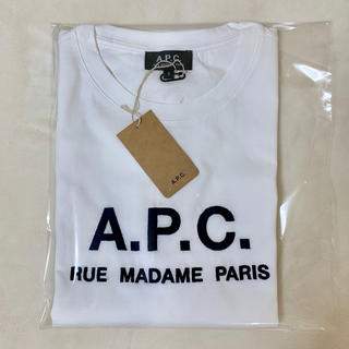 アーペーセー(A.P.C)のAPC ロゴ刺繍 Tシャツ メンズ Sサイズ(Tシャツ/カットソー(半袖/袖なし))