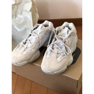 アディダス(adidas)のadidas YEEZY 500 【新品未使用】(スニーカー)