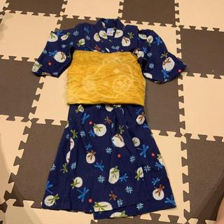 ミキハウス(mikihouse)のミキハウス 浴衣 120(甚平/浴衣)