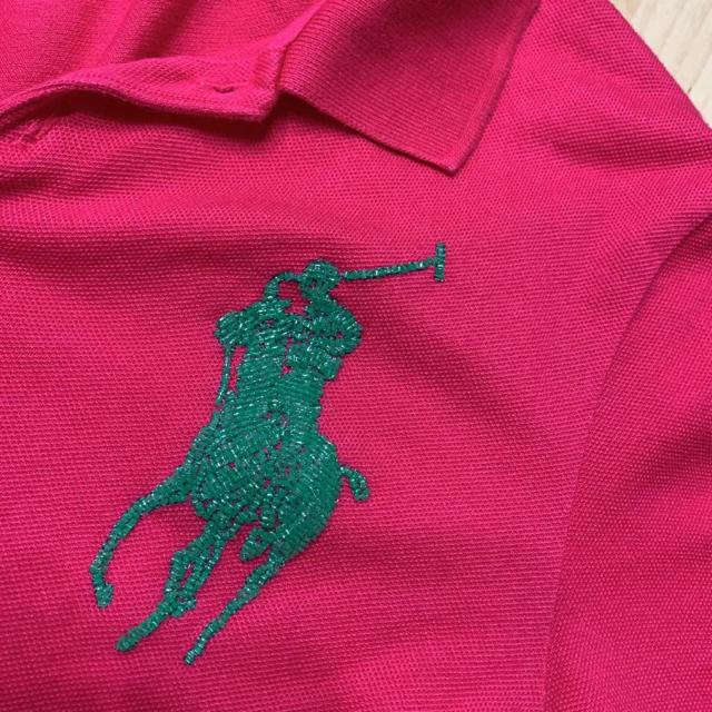 POLO RALPH LAUREN(ポロラルフローレン)のラルフローレン ロゴがビーズ ポロシャツ レディースのトップス(ポロシャツ)の商品写真