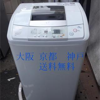ハイアール(Haier)のHaier 6kg 簡易乾燥機能付洗濯機 JW-K60F 2014年製 (洗濯機)