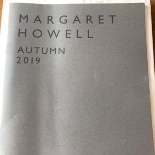 MARGARET HOWELL - 最新 マーガレットハウエル  2019秋 カタログ autumn 2019 今季