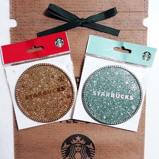 Starbucks Coffee - 韓国スタバ 2015 コースター 2枚 セット