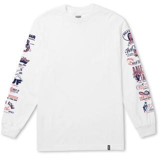 ハフ(HUF)の新品 値下げ交渉可能!!HUF ロングTシャツ ホワイト(Tシャツ/カットソー(七分/長袖))