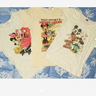 Disney - ディズニー Tシャツ 3枚セット