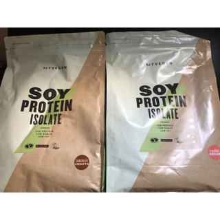 MYPROTEIN - マイプロテイン ソイプロテイン1kg  2種類セット
