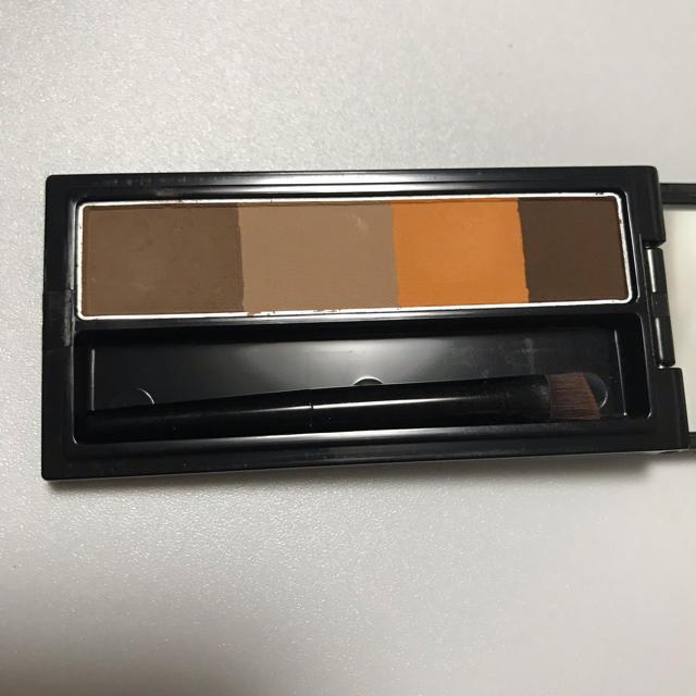 VISEE(ヴィセ)のヴィセ  リシェ カラーリング アイブロウ パウダー BR1 イエロー ブラウン コスメ/美容のベースメイク/化粧品(パウダーアイブロウ)の商品写真