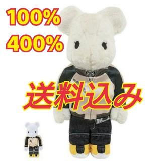 MEDICOM TOY - 【送料込】sacai be@brick 100% 400%
