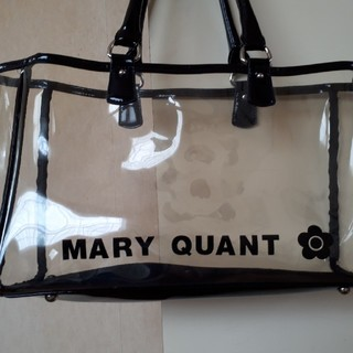 MARY QUANT - MARY QUANT クリアバック 中の巾着袋2つ付き