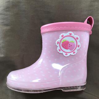 アカチャンホンポ(アカチャンホンポ)の長靴 レインブーツ 13.0 ピンク 女の子(長靴/レインシューズ)