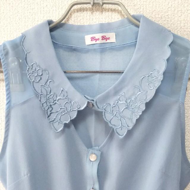 ByeBye(バイバイ)のバイバイ ブラウス レディースのトップス(シャツ/ブラウス(半袖/袖なし))の商品写真