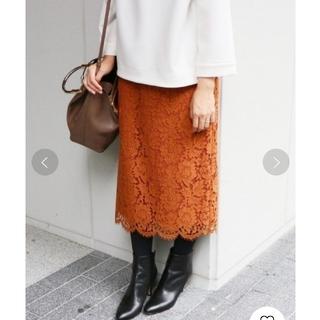 IENA - イエナ♡レースタイトスカート 38